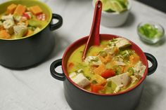 Thai chicken soup #whole30  For support on your journey find Our page www.coachgotham.com