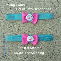 My Aunt Loves Me Newborn threw 6 Months SOFT Headbands. MAKES A GREAT GIFT! in Clothing, Shoes & Accessories, Baby & Toddler Clothing, Girls' Clothing (Newborn-5T) | eBay
