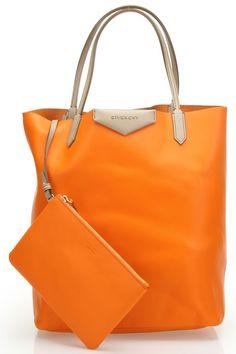Orange Tote.