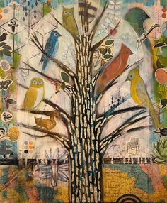"""Family Tree"" by Judy Paul 