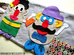 Handicraftiness: DIY Portable Felt Board- Great Xmas Gift for the Kids!