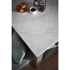 LG Hausys Viatera 3 in. x 3 in. Quartz Countertop Sample in Karis-LG-A02L-VT - The Home Depot
