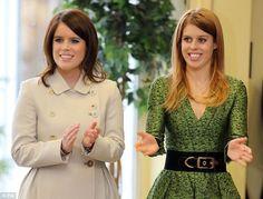 Bea e Eugenie promovem a Grã-Bretanha em Berlim 17.01.2013