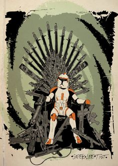 Game of Thrones is back tomorrow!!! In celebration FREE SHIPPING with code: gameofclones - Game of Clones by Geekleetist on Etsy, $15.00