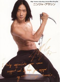 I just bought Ninja Assassins & I eagerly watched it again last night! I found myself cringing, I'd forgotten how violent & gory it was. Truth is, the first time I saw Rain as a.k.a. Raizo I was smitten. Yes, I do have an appreciation for Martial Arts movies, and I'm also a huge Horror genre fan. So no, I didn't watch this movie just because of a hot guy, however that is why I bought the movie:)  I promise you if it were not for the handsome fierce Hero I'd never want to watch this movie…