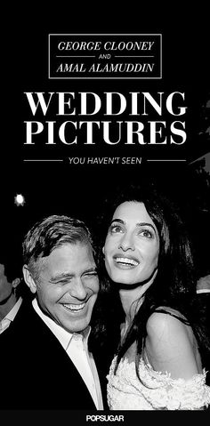 The George Clooney and Amal Alamuddin wedding pictures you haven't seen!