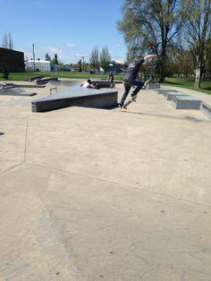 Brekke Olsen poppin Ollies at the Springfield Park!