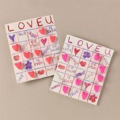 Crayola®+Love+U+Bingo