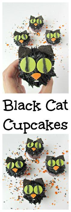 Black Cat Cupcakes a
