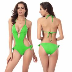 f6fcbca340 One Piece Bikini Swimsuit For Women Sexy Paded Swimwear Push Up Swim Suit  For Beach Swimming Pool