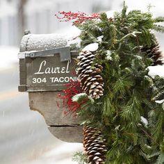 festive mailbox