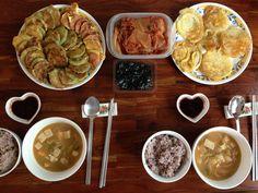Home made Korean home meal. #KoreanFood #Korea #Food