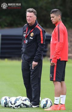 Training 9/21/14 (from official twitter account for Manchester United)