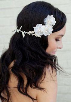 Vow renewal hair. Beautiful!!
