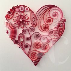 Quilling Heart Visit our Etsy Shop to claim a heart of your very own. Happy Vale… Quilling Heart Visit our … Neli Quilling, Ideas Quilling, Free Quilling Patterns, Quilling Work, Origami And Quilling, Quilled Paper Art, Paper Quilling Designs, Quilling Paper Craft, Paper Hearts Origami