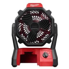 Milwaukee M18 18-Volt Lithium-Ion Cordless Jobsite Fan (Tool-Only) 3ddacaf720a8