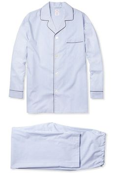 Editor's Choice: Best Holiday Gifts - Derek Blasberg, Editor at Large -   Brooks Brothers monogrammed pajamas, $110.50