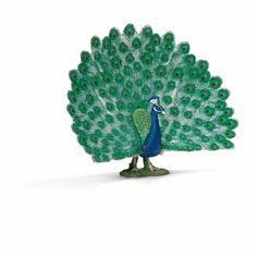 Amazon.com: Schleich Peacock Toy Figure: Toys & Games