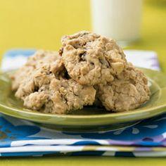 White Chocolate, Strawberry, and Oatmeal Cookies | MyRecipes.com