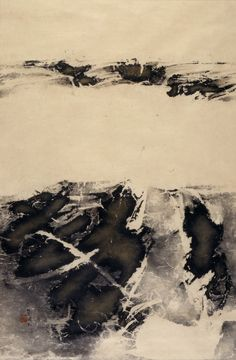 Landscape Liu Guosong (China, born 1932) China, 20th century; Framed hanging scroll, ink and color on paper Image: 33 1/4 x 21 3/4 in. (84.46 x 55.25 cm); Mount: 42 1/8 x 26 in. (107 x 66.04 cm); Frame: 43 1/2 x 27 1/2 in. (110.49 x 69.85 cm); Gift of Doris Levinson (M.79.127.1)