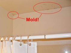 How to clean BLACK MOLD from walls, ceilings and fixtures. For both porous and non porous surfaces using items found in most kitchens or laundry areas