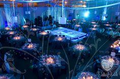 Decoración azul en @Villa_Danieli #Eventos #Decoración