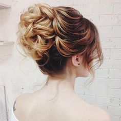 soft updo  ~  we ❤ this! moncheribridals.com #weddingupdo