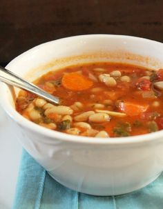 Fat Burning Vegetable Bean Soup - Not Quite a Vegan