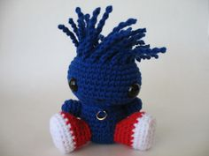 Chibi Sonic Amigurumi by djonesgirlz, via Flickr