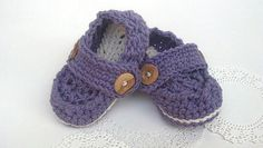Baby Girl Chrochet Loafers.  Would be great for my little dude too