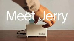Jerry, the travel humidifier by FLIGHT 001. http://www.flight001.com/travel-humidifier.html
