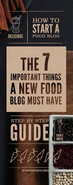 Food Blog Website Design Ideas