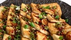 Pan fried tofu with spicy sauce (Dububuchim-yangnyeomjang) recipe - Maangchi.com