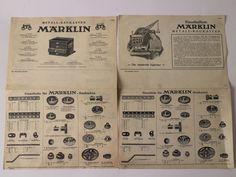 Märklin Metall Baukasten Antik. Anleitung Maerklin H Dachbodenfund M 403 326 A