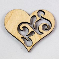 Серце з візерунком 3-0   #Gift, #Wood, #Woodgift, #ЛазернаяРезка, #ПодЗаказ, #Подарок, #Подарунок, #Серце, #Украина, #Черкассы - http://woodgift.net/product/serce-z-vizerunkom-3-0/