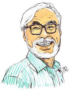 Hayao Miyazaki by Rama Hughes