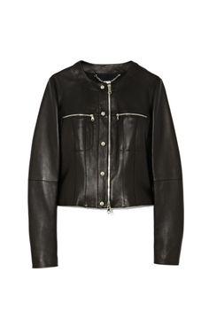 Leather Jacket by Loewe Now Available on Moda Operandi