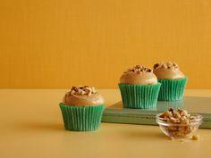 Gina's Banana Cupcakes recipe from Patrick and Gina Neely via Food Network