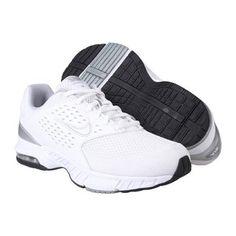 90f45d35e3ab Nike Women s Air Miler Walk+ 2 - White   Metallic Silver-Metallic  Silver-Black