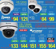 Ultra Heavy-Duty IP68 VANDAL-RESISTANT Security Cameras (HAMMER & STORM Series)