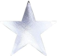 """Amazon.com: Silver Star Cutouts   3.50""""   Pack of 12   Party Decor: Kitchen & Dining Cheap Party Supplies, Discount Party Supplies, Silver Party Decorations, Star Decorations, Silver Garland, Hanging Stars, Party Expert, Star Garland, Star Party"""