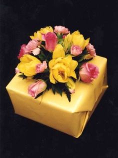 First Come Flowers: Elegant Gift Wrapping