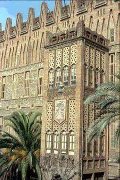 El Colegio de las Teresianas  Architect Gaudi