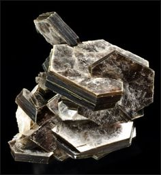 Muscovite Mica  KAl₂(AlSi₃O₁₀)(F,OH)₂  Monoclinic