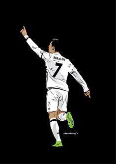 CR7 Cristano Ronaldo, Cristiano Ronaldo Juventus, Ronaldo Football, Neymar Jr, World Best Football Player, Football Is Life, Soccer Players, Football Player Drawing, Madrid Football Club