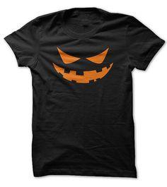 Dan-Wood Halloween Scary Pumpkin Jack O Lantern Evil Smile Youth Kids T-Shirts Cotton Fashion Graphic Print Tee
