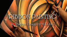 Abstract Textured 3D Metalic Painting 'Birth of Infinity' How to, Demo - YouTube