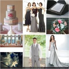 Inspirational Wedding Ideas #114: Grey and Pink