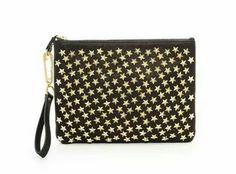 Stars clutch purse