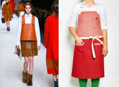 Aprons on Parade: From the Rabbit Hole to the Kitchen - The New York Times